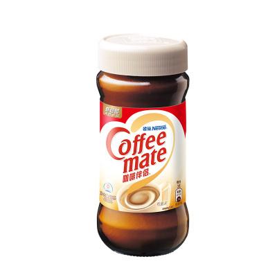 Nestle/雀巢咖啡伴侶植脂末純黑咖啡粉伴侶沖飲料400g瓶裝