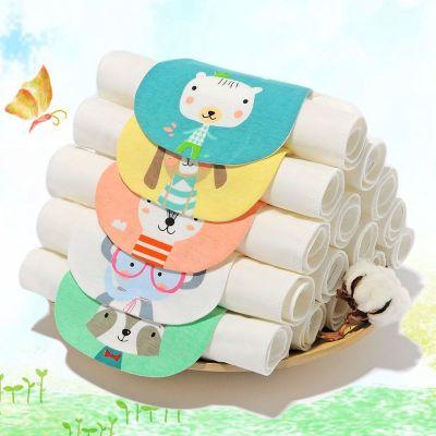 【五條裝】夏秋冬季透氣嬰兒紗布隔汗巾棉寶寶吸汗巾幼兒童汗巾 莎丞