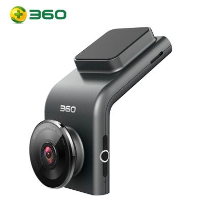 360行车记录仪g300g300p高清夜视新款车载汽车电子狗24小时监控 黑色 套餐六