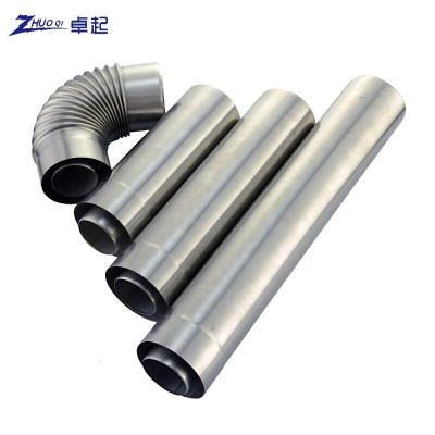 平衡式熱水器雙層排煙管 萬家樂 萬和等壁掛爐加厚不銹鋼排氣管