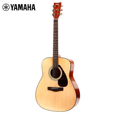 雅马哈自营(YAMAHA)F600 民谣吉他 雅马哈吉他 初学入门吉他男女木吉它jita乐器 木吉他 圆角 41英寸