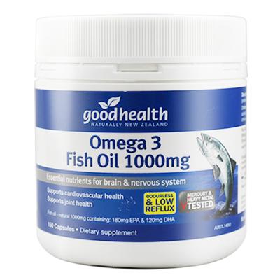 GoodHealth 好健康新西蘭進口深海魚油軟膠囊 兒童孕婦成人中老年人150粒