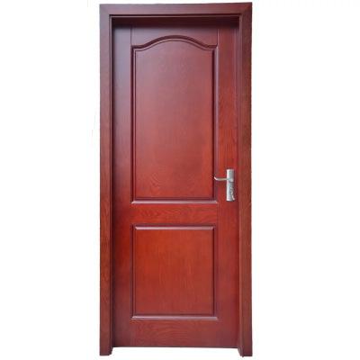 定制實木門原木門 指接實木貼板門輕奢木門簡約木門胡桃木門紅橡木門