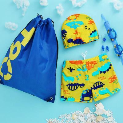 2019新款兒童寶寶嬰兒泳衣男童小童平角溫泉泳褲泳裝可愛卡通泳裝
