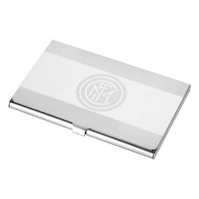 国际米兰俱乐部Inter Milan官方Logo商务随身便携简约时尚金属名片盒