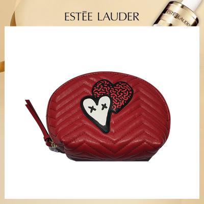 雅詩蘭黛(Estee Lauder)愛心壓紋化妝包