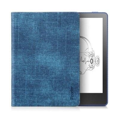 【套裝】全新掌閱 iReader A6 電子書閱讀器 聽讀一體 6英寸電紙書 8GB星耀藍+原裝側翻保護套 深邃藍