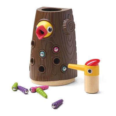 特寶兒(topbright)啄木鳥捉蟲游戲兒童玩具男孩女孩 早教益智玩具 120392