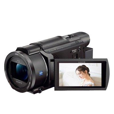 索尼(SONY)FDR-AX60超高清4K数码摄像机会议活动家用高端DV 5轴防抖 20倍光学变焦支持夜摄功能AX60