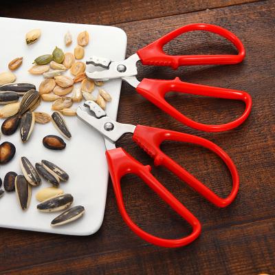 瓜子剝殼器吃黑瓜子鉗工具剝瓜子神器夾瓜子嗑葵花籽西瓜子剝殼器