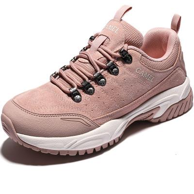 駱駝登山鞋女男士2020秋季新品防水防滑輕便專業運動戶外徒步鞋子