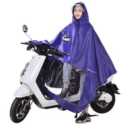 歐杰森雨衣電動車摩托車雨披電瓶車成人加大騎行雨披遮腳單人雙人男女士