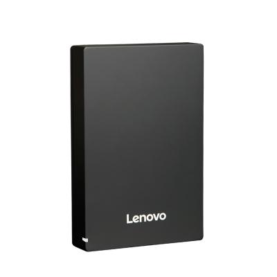 聯想移動硬盤F308 2TB USB3.0高速傳輸黑色多系統兼容輕薄商務