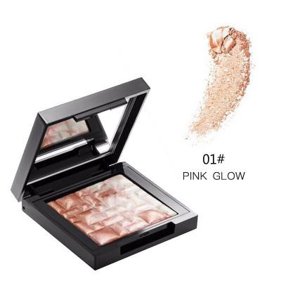 【明星同款】芭比波朗(BOBBIBROWN)五花肉粉餅腮紅高光修容盤神仙高光提亮立體 01# pink glow