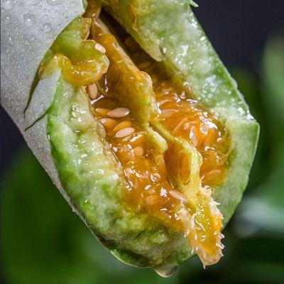 【湖北順豐可發】羊角蜜甜瓜5斤裝 香瓜脆甜多汁 農家新鮮水果