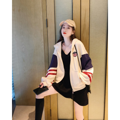 佐露絲RALOS短款外套女裝春秋寬松韓版2020年春季新款薄款棒球服百搭運動衛衣