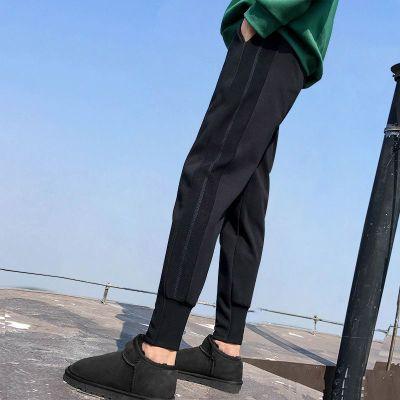 孕妇裤子春秋季春款外穿大码加绒加厚保暖宽松哈伦怀孕妇装打底裤