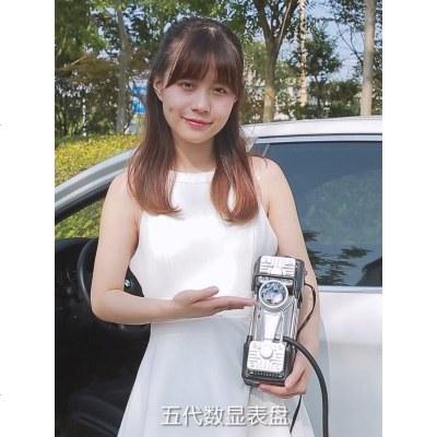 双缸车载充气泵汽车大功率220V家用车用两用打气泵小轿车便携式