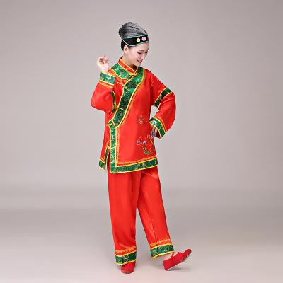 媒婆服裝老太太秧歌服地主婆戲劇演出服老年廣場舞蹈服老婆婆戲服