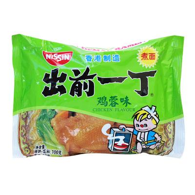 香港制造出前一丁雞蓉味油炸方便面100克 煮面雞湯味