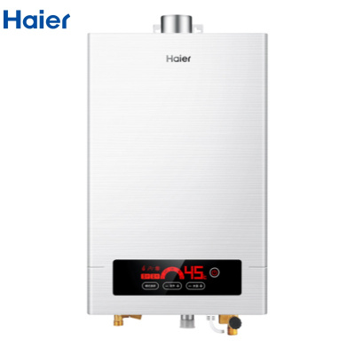 【99新】 Haier/海尔 精控恒温燃气热水器 稳压抗风智能防冻天然气热水器 JSQ24-12TC2(12T)(珠光)