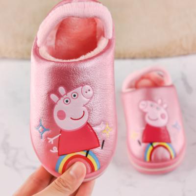 小猪佩奇男女童棉拖鞋9877