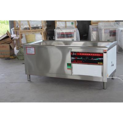商用超聲波全自動酒店飯店食堂大型洗菜妖怪洗碟機器洗碗機商用洗碗機 長150cm寬80cm高80cm
