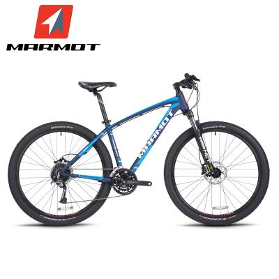 Marmot土撥鼠變速自行車山地27.5英寸男女式單車油壓碟剎鋁合金山地自行車27速