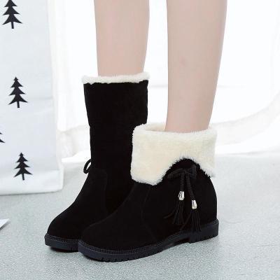 【一鞋兩穿】雪地靴女冬季新款韓版百搭平底學生加絨保暖棉鞋 莎丞