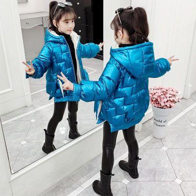 女童冬裝棉衣2019新款韓版外套小女孩洋氣棉襖中大兒童冬季棉服潮