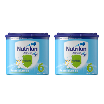 【環球hi淘】【假一賠百】2罐|荷蘭牛欄Nutrilon諾優能嬰幼兒奶粉6段400g 適合3歲以上新舊包裝隨機發貨