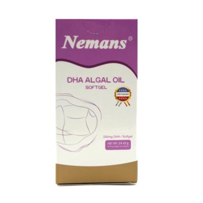 【苏宁红孩子】纽曼思DHA藻油软胶囊(美国) 0.815克/?!?0粒/每盒(成人) 瓶装