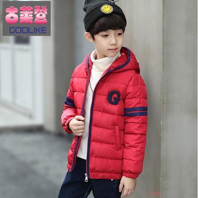 古萊登 男童棉衣外套冬裝冬季新款兒童棉服短款加厚中大童韓版時尚小男孩保暖棉襖3-15歲潮