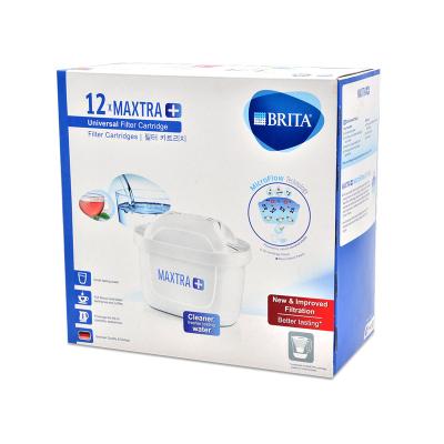 【夠用一年】BRITA碧然德 德國技術 凈水器濾水壺Maxtra多效凈水濾芯 4周更換 全年12只裝