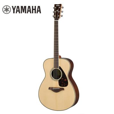 雅馬哈自營(YAMAHA)雅馬哈FS830原木色單板民謠木吉他40英寸
