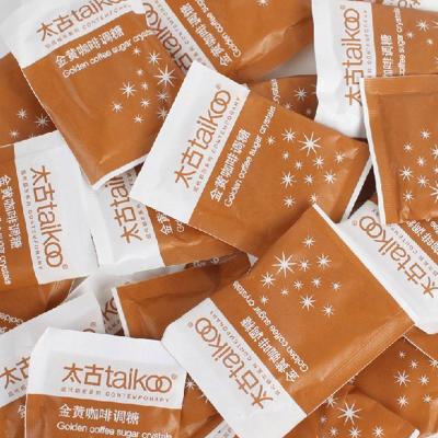 Taikoo太古黃糖包 優質金黃赤砂糖咖啡輔料 咖啡調糖伴侶5gX100包裝