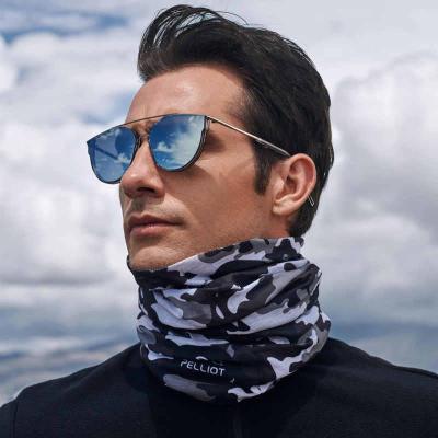 圍脖夏季薄款男脖套百變魔術頭巾運動戶外防風沙騎行面巾防曬面罩