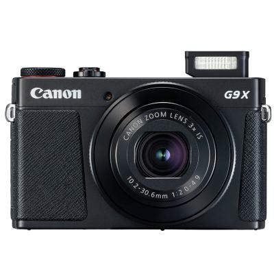 佳能(Canon)PowerShot G9 X Mark II 數碼相機(黑) 3英寸顯示屏 約2010萬有效像素