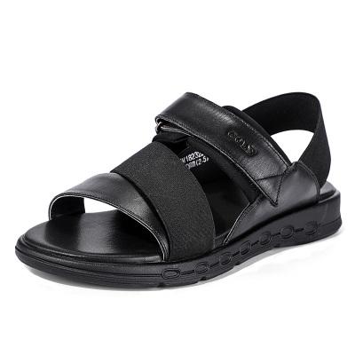 GOLF高尔夫男鞋夏季新款凉鞋韩版潮流户外时尚沙滩鞋真皮个性轻便潮鞋子GM182322103