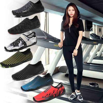 健身房運動鞋男室內訓練瑜伽軟底深蹲硬拉健步跳繩女跑步機專用鞋 莎丞