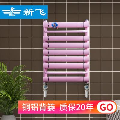 新飛暖氣片家用水暖銅鋁壁掛式散熱器定制采暖集中供暖水暖暖器片XTLW400*600
