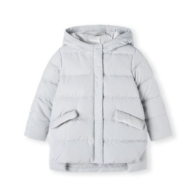 【1件5折】巴拉巴拉女童羽绒服儿童中长款童装秋冬2019新款宝宝外套小童加厚