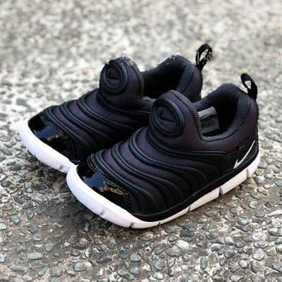 特賣 Nike耐克男女童鞋幼小童舒適透氣一腳穿毛毛蟲運動鞋休閑鞋343938-013-021 AA7217-001 C