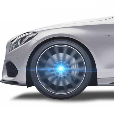 靜航(Static route)大眾磁懸浮輪轂燈別克奔馳寶馬奧迪魏派通用改裝汽車裝飾輪轂蓋燈