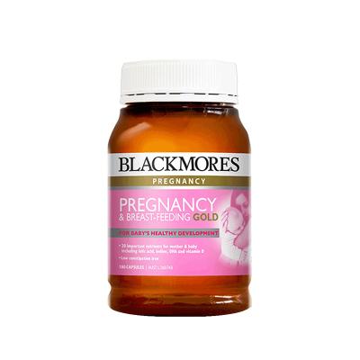 【兩件85折】BLACKMORES 澳佳寶 孕婦黃金營養素 180粒/瓶 澳洲進口 復合維生素 268克