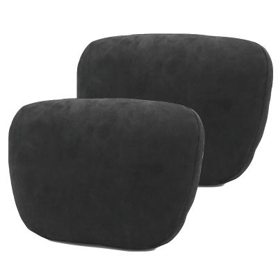 (黑色頭枕2個)ZHUAX汽車頭枕護頸枕頸椎枕靠枕車內座椅腰靠車用小枕頭車載抱枕車內四季睡覺奔馳邁巴赫S級高檔