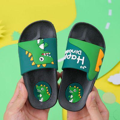 兒童拖鞋夏男女童室內小孩防滑軟底居家寶寶卡通中大童親子涼拖鞋