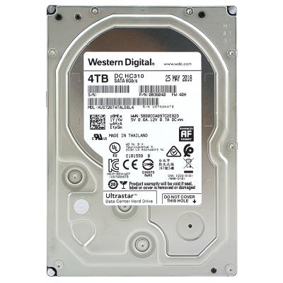 WD西部數據 4T SATA3 7200轉256M HUS726T4TALE6L4企業級硬盤