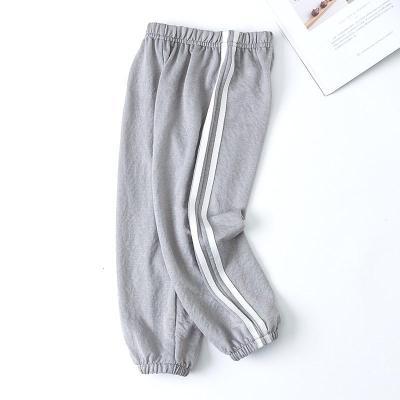 儿童裤子夏季薄款夏装男童冰丝棉麻休闲运动灯笼裤女童宝宝防蚊裤