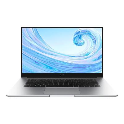 華為MateBook D 15 筆記本電腦 銳龍版R5 16G+256GB+1TB 皓月銀 正版Win10系統 微框全面屏 多屏協同 學生商務辦公設計輕薄本 新品